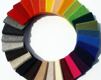5MM Virgin Merino Wool Color Sampler