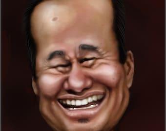 personalized digital caricature