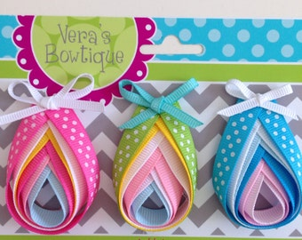 Easter Egg Hair Clip or Pin