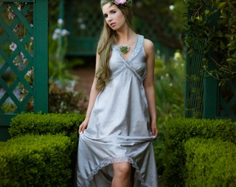 Garden Gown Madison-Featured in Oregon Bride AND Mingle Magazine-Whimsical-Boho-Beach-Bridesmaids-Alternative wedding Gown-CRBoggs Original
