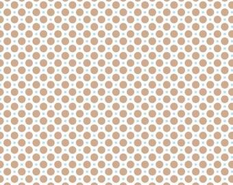 Circle Nutmeg One Yard Cut from Sew Cherry 2 by Lori Holt for Riley Blake Fabrics