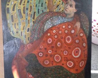 Gustav Klimpt painting reproduction?