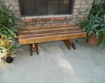 Southern Swings Handmade Heavy Duty Patio Coffee Table,Free Shipping