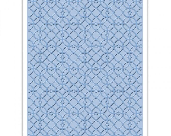 Sizzix Tim Holtz Texture Fades Embossing Folder - Latticework