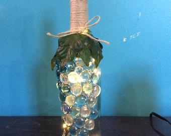 Light-Up Wine Bottle