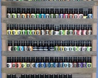Essential oil shelf, essential oil storage