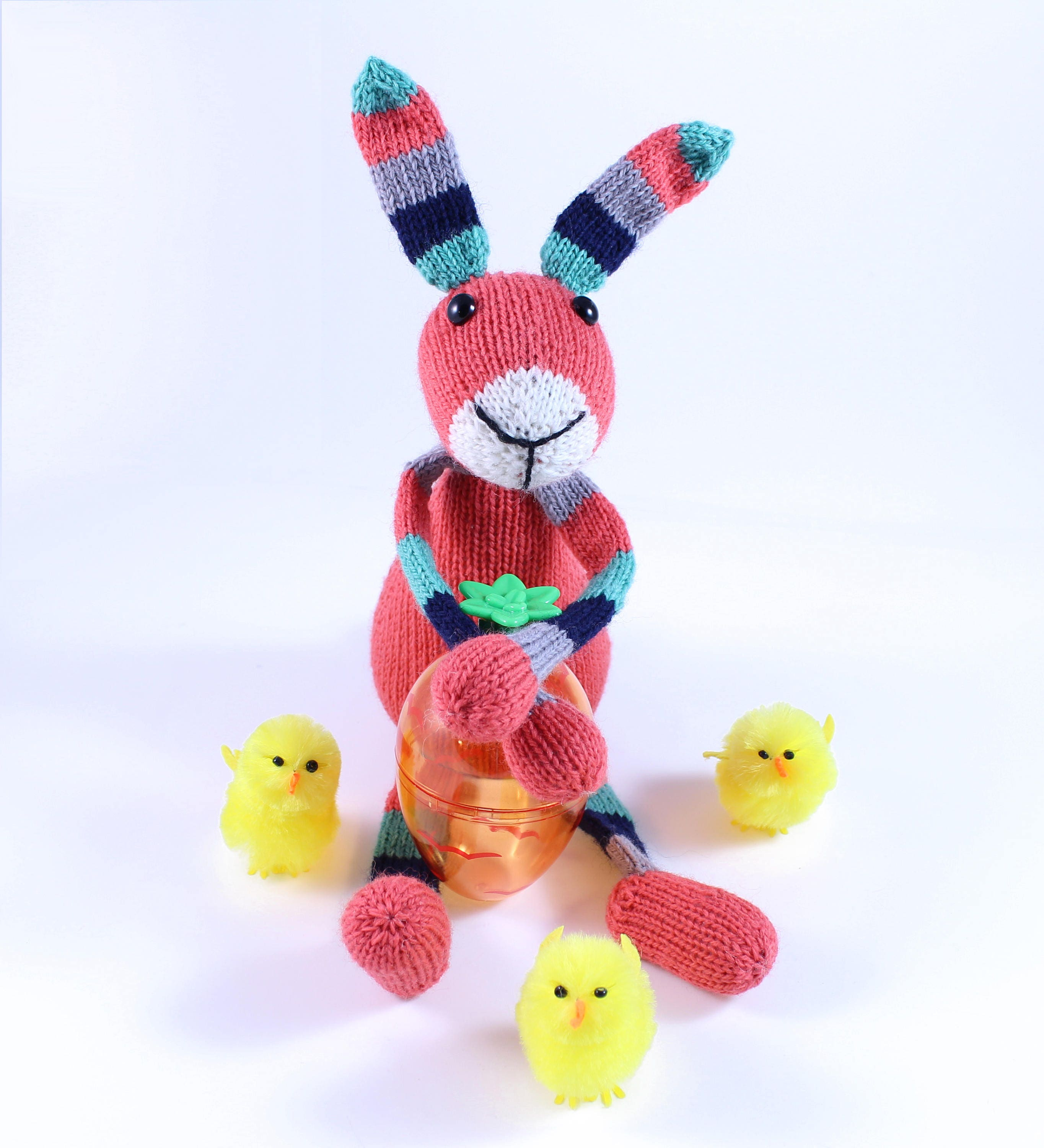 Wicked chickens yarn wickedly colorful easter bunnies knitting this is a digital file negle Gallery