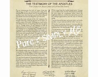 Living Christ 16 x 20 digital  - LDS  Art - Family Proclamation