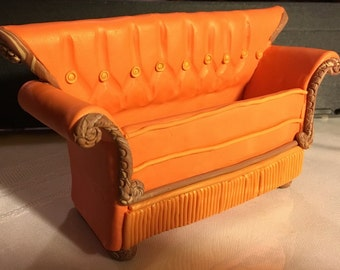 Friends Couch Business Card Holder