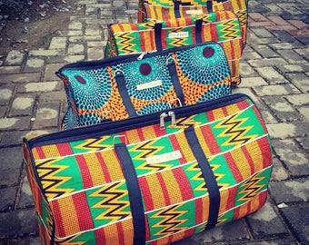 African print Traveling bag
