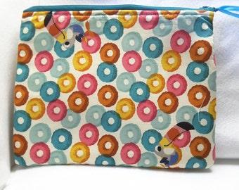 Kelloggs Frooty loop purse, zippered bag, cosmetic bag,toiletry bag
