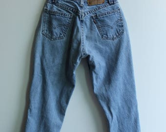 Vintage High Waist Levi's 565 // Tailored // Size 22 XS