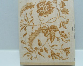 Anna Griffin Wood Mounted rubber stamp