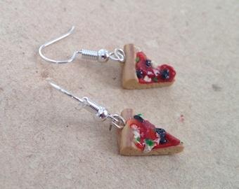 Pizza Earrings
