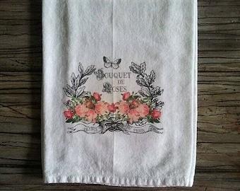 Bouquet of Roses Flour Sack Towel