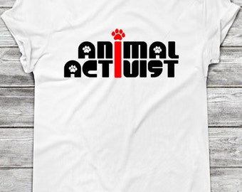 Printable Iron On T-Shirt Transfer: Animal Activist / Inspirational DIY Gift Idea for Animal Rights Activists and Vegans // Instant Download