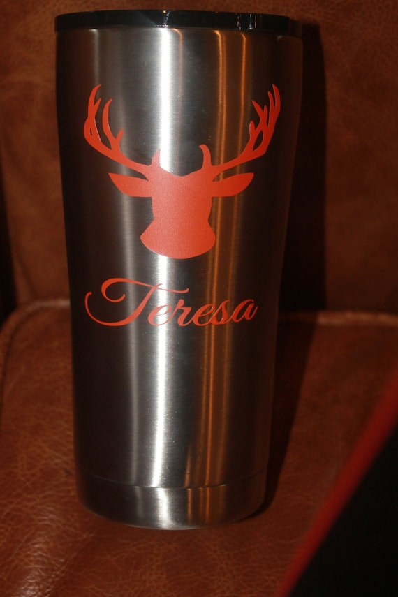 Antlers decals, yeti decal, decals, deer decal, decal for women, decal for men, hunting, RTC, bow, gun, personalized decals, ozark decal