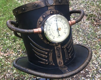 The Time Traveler Steampunk Top Hat