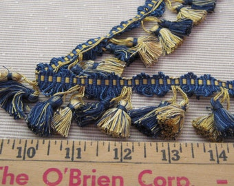 Robert Allen Lily Tassel Trim in Lapis