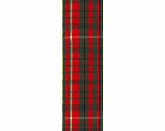"""7/8"""" Christmas Fashion Plaid Ribbon -  Red and Green Plaid Ribbon"""