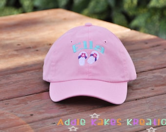 Personalized Kids Baseball Cap - Kids Baseball Hat - Youth Baseball Cap - Monogrammed Baseball Cap - Choose Any Design - Personalized Cap