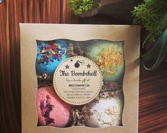 Bath Bomb Gift Set: The BOMBshell Gift Box