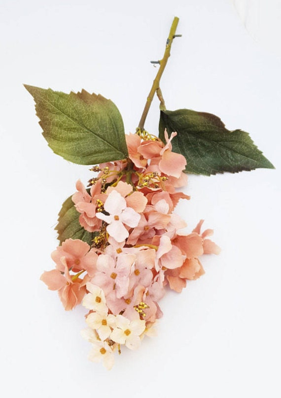 Mauve pink hydrangea artificial silk flower stem wedding bouquet mauve pink hydrangea artificial silk flower stem wedding bouquet wreath supplies millinery flowers crafts the blue hutch from thebluehutch on mightylinksfo Gallery