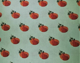 Fabric with little pumpkins - Dear Stella - Quilting Cotton Fabric - Choose your cut