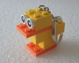 Keychain Brick Duck