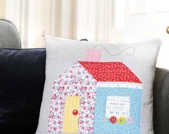 PDF Pattern: Schoolhouse Cushion (Beginner Friendly)