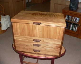 Handcrafted Wood Tool Chest