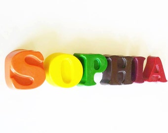 Name Crayons, Alphabet Letters, Crayons, Personalized Gift, Crayon Letter, Personalized Name, Party Crayon, Custom Name, Alphabet, Your Name