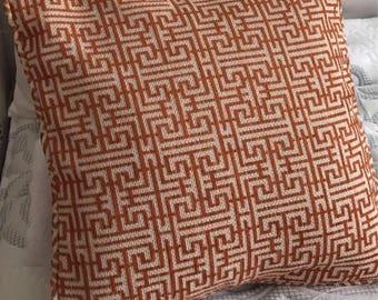 Orange Decor Pillow