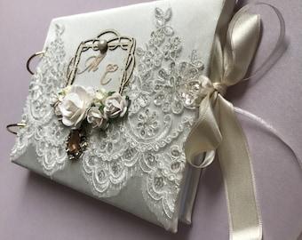 Wedding handmade photo album
