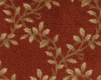 Tuscan - ORGANIC FLORAL - Indoor Tufted, Pinpoint Saxony Area Rug - Invista Tactesse® Nylon Type 6,6