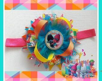 Trolls Beautiful headband bow