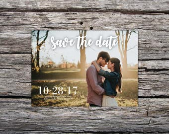 Save the Date Magnets - Save the Date Card - Wedding Save the Date - Save the Date with Envelopes - Photo Save the Date
