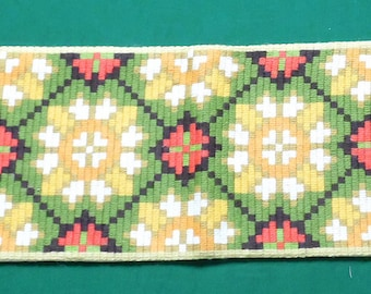 Vintage hand embroidered Wall Hanging / tapestry / Handmade Picture
