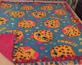 Shopkins fleece blankets