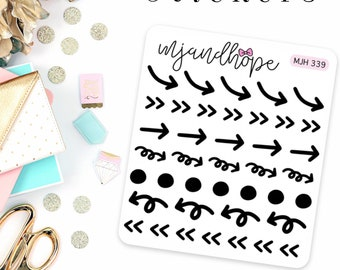 Arrows and Dots Stickers | MJH 339