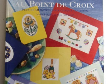 GREETING cards by Lynda Burgess and Julia Tidmarsh cross stitch book