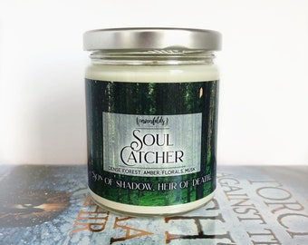 Soul Catcher | An Ember in the Ashes Inspired 8oz. Scented Soy Candle