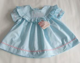 Summer dress girls, Spring Dress for Girls, Summer Dress, Dress Baby Girl, Baby Dress, Monogram Dress, Personalized Dress,Girls Spring Dress