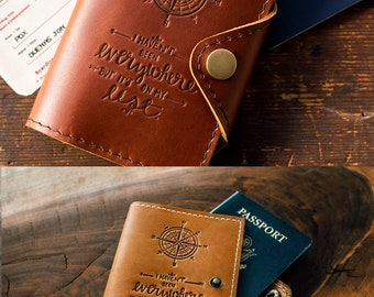 WOW 60% OFF Passport Cover Travel Passport Personalized Wallet Cover... Custom Full Grain Leather Passport... Passport Holder Dollars Sale