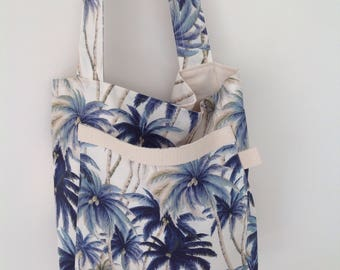 Tommy Bahama, Accessories, Crossbody bag, Beach bag, Palm trees, Bags, Purses, Boho bag, Gift for Woman, Hipster bag, Blue, Australian made,