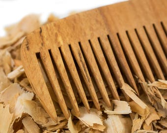 BEARD COMB - Handcrafted Wood Beard Comb, Beard Care Made in Greece, Gift for Him