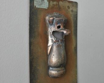 Vintage Yogi Bear Metal Doll Mold Brooklyn NY