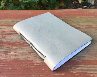 Journal Sketchbook - Grey Leather