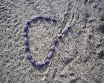 Lavender Glass Necklace