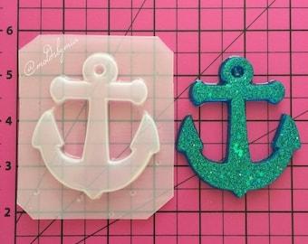 ON SALE Lovely anchor flexible plastic resin mold
